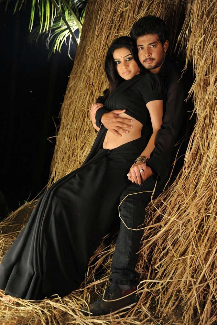 Check out the hot poses of actor and actress from movie Kodipunju