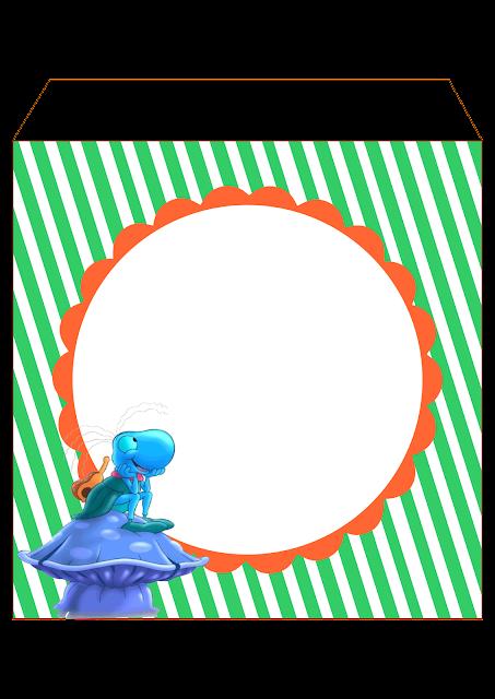 Bandeirinha para personalizar O Grilo Feliz