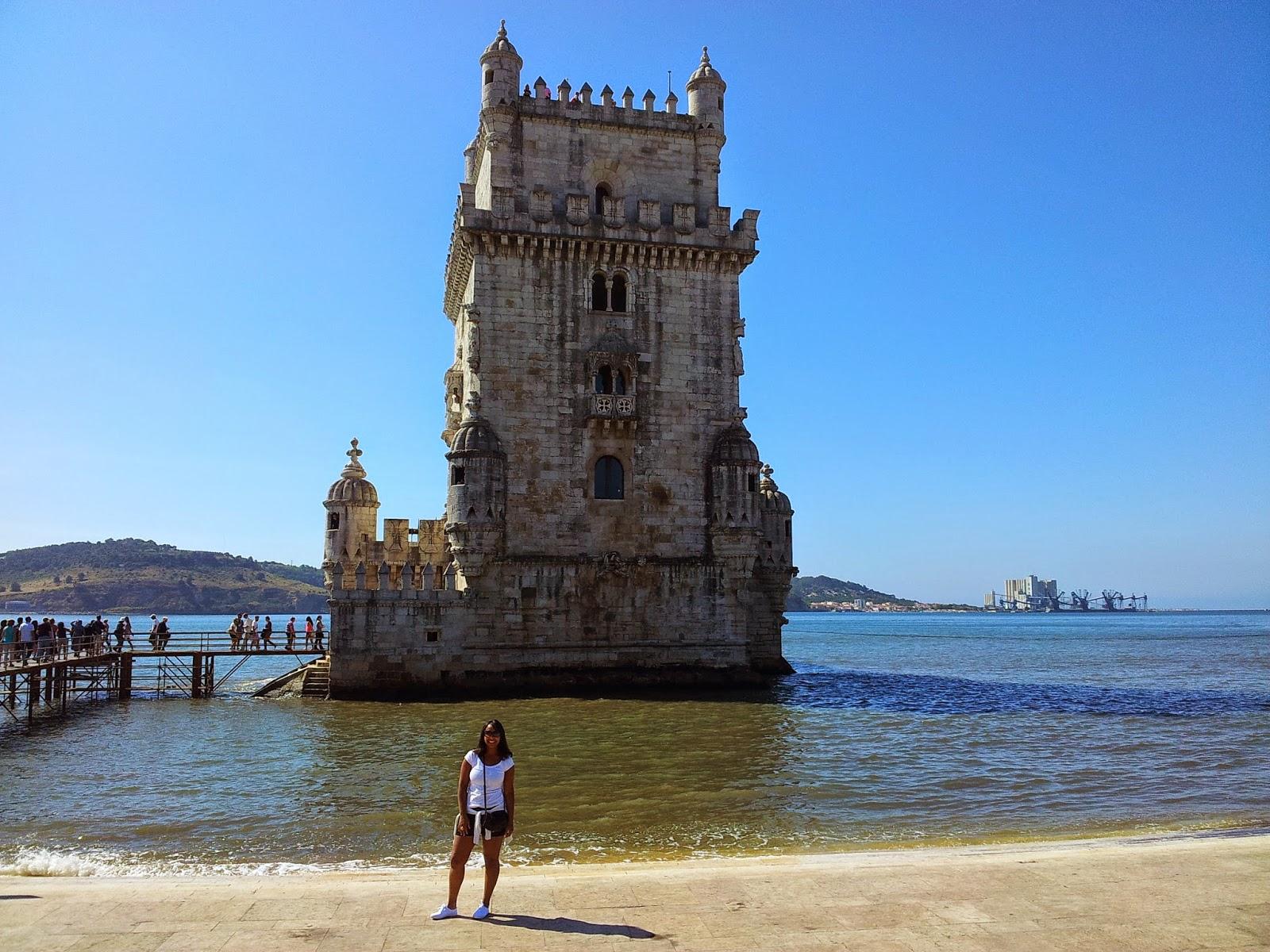 Torre de Belém - De Mochila pela Europa! - Viviane Rodrigues