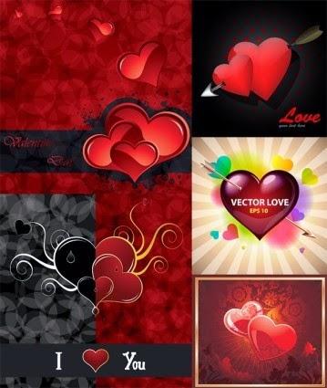 valentine day vector elements