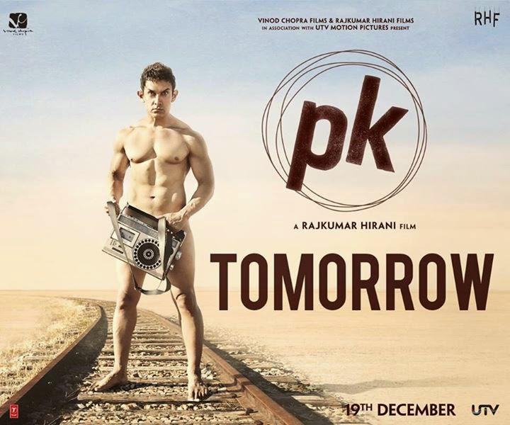 poster of Aamir Khan-starrer u0027PKu002