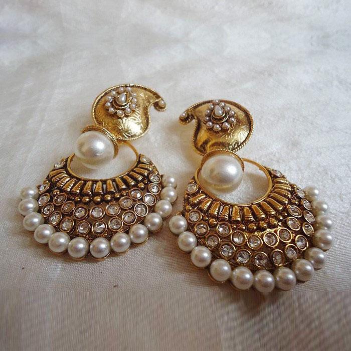 elegance of living indian earrings designs
