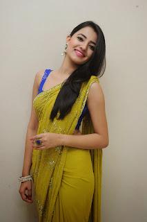 Ruksha Meer sizzling in saree 014.JPG