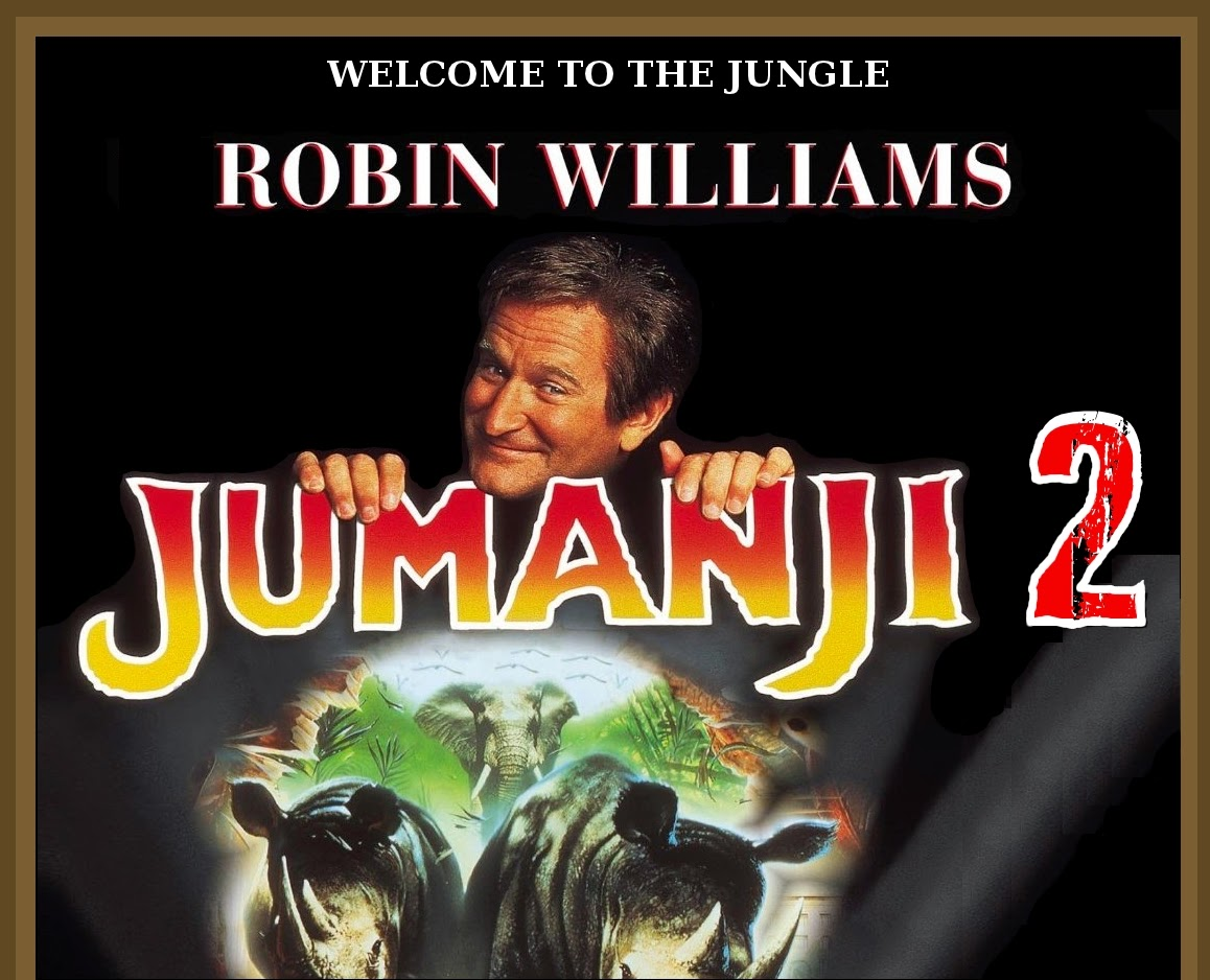 Mars' Arcade of Movies and Games: Films That Should Be : Jumanji 2