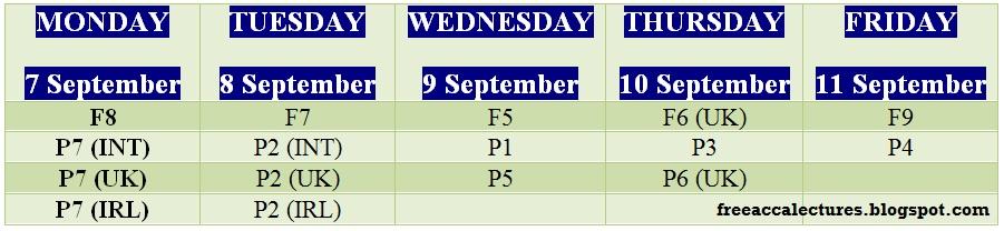 acca-exam-timetable
