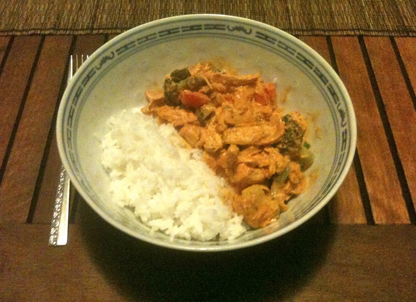 The Active Scrawler: Allergy free Thai coconut chicken curry recipe