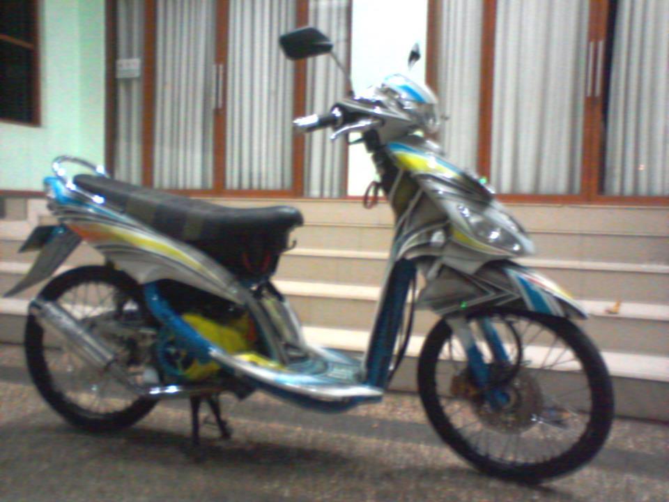 modifikasi mio tahun 2006 terbaru