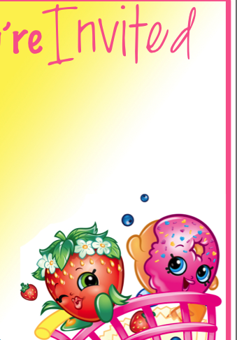 Soft image intended for free printable shopkins invitations