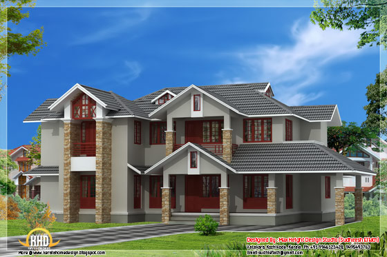 3131 square feet 4 bhk Indian style house elevation