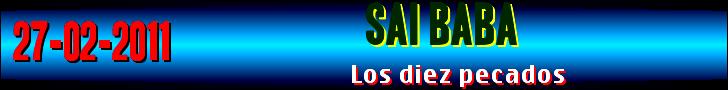 LOS DIEZ PECADOS
