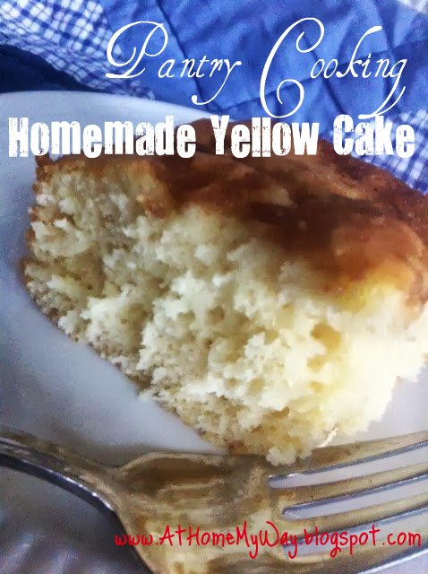Really good yellow cake recipe