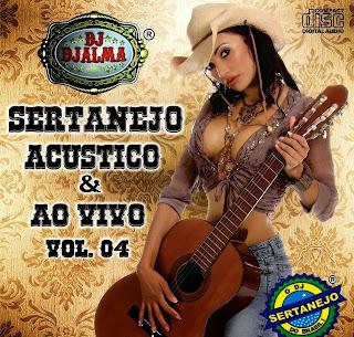 capa Baixar Dj Djalma Sertanejo Acústico e Ao Vivo Vol. 4 (2014)