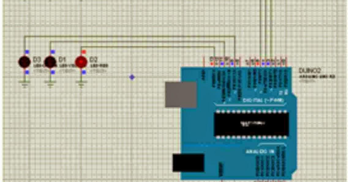 Cara membuat lampu merah jalur secara virtual