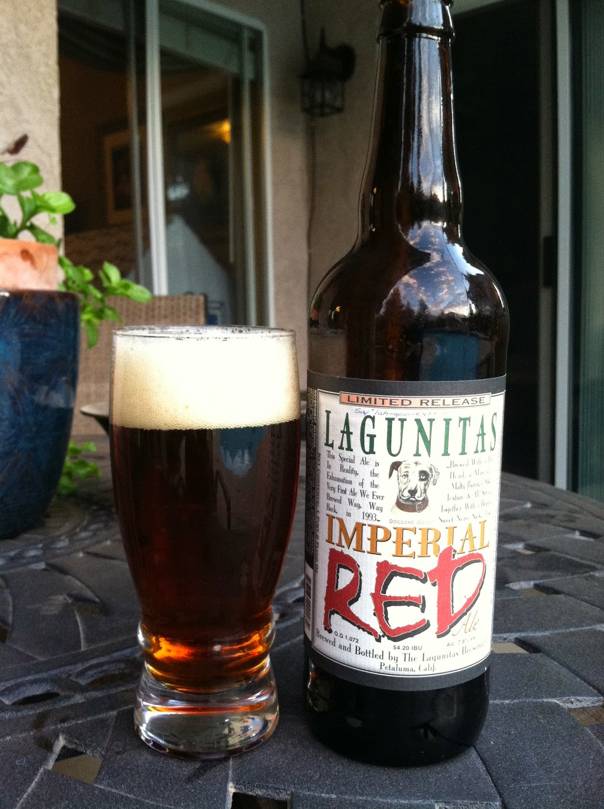Lagunitas Imperial Red Ale 1