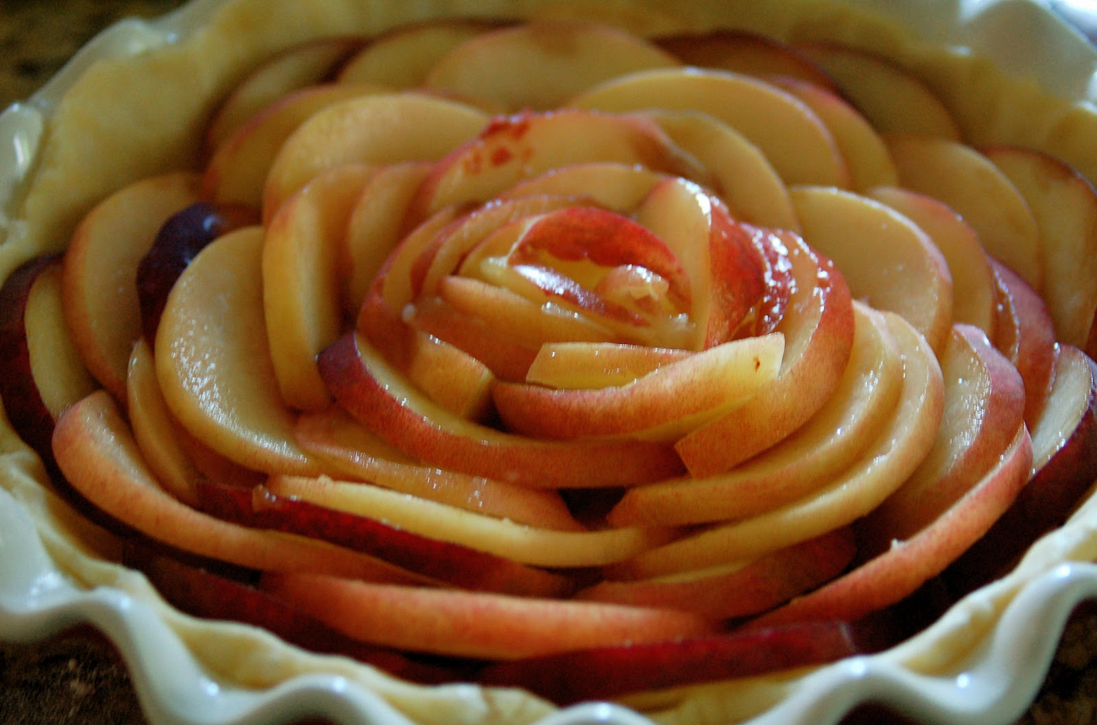 the experimental clove: Tequila peach pie