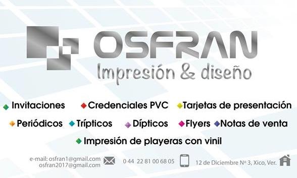OSRAN Impresión & diseño