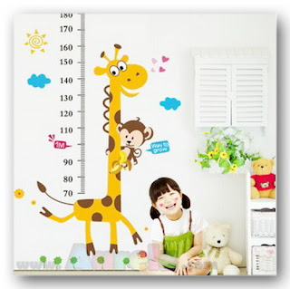 height measurement giraffe monkey AY831