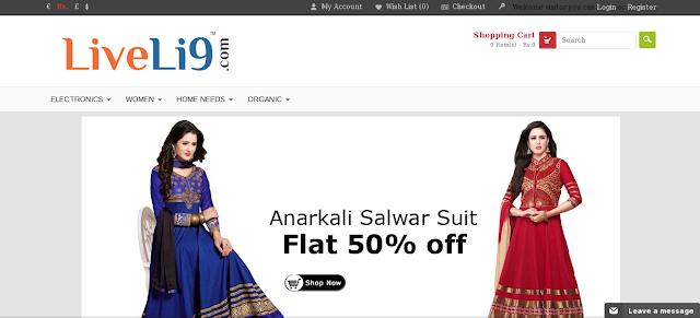 Liveli9 For online Shopping Lovers | Liveli9.com