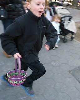 photo running boy by MK Metz Easter 2013 Pierrepont Brooklyn