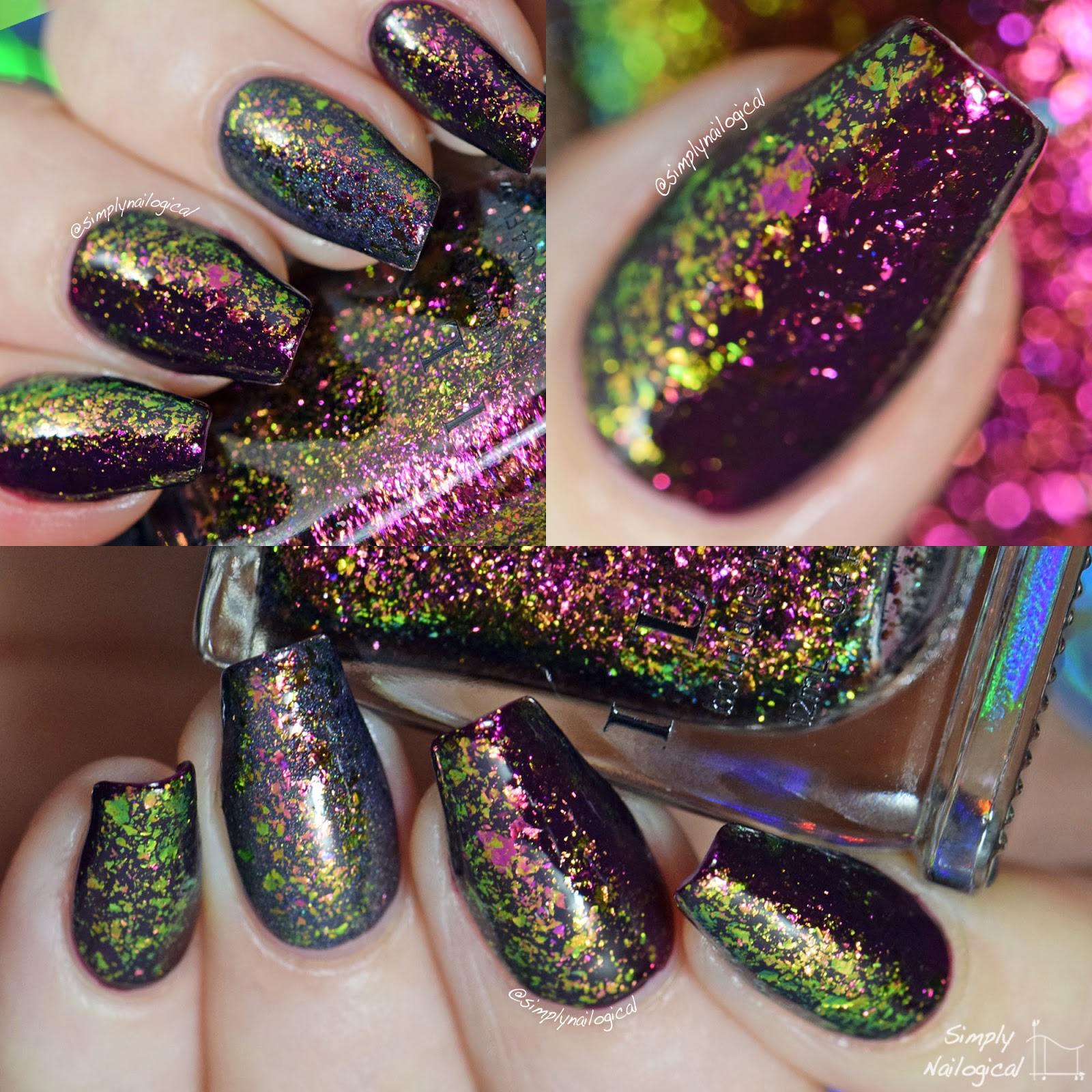 ILNP ultra-chrome flakies Electric Carnival