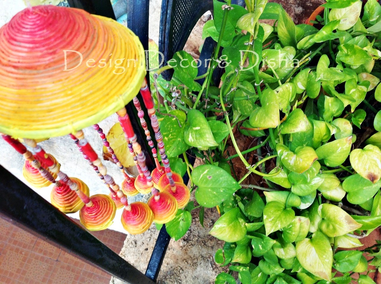 Diy Wind Chimes Design Decor Disha Diy Newspaper Wind Chime