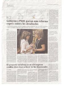 Diari El País dijous 8 de novembre del 2012