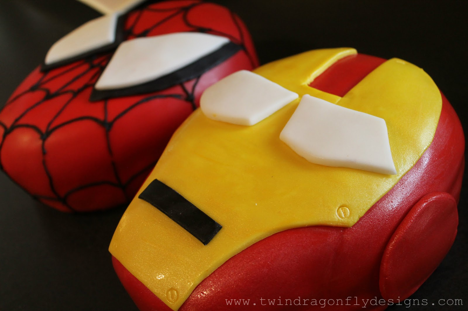 Superhero 5th Birthday Party Dragonfly Designs