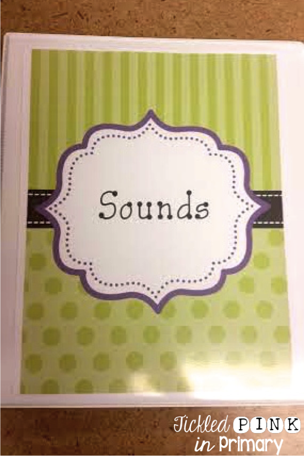 Sounds Worksheet