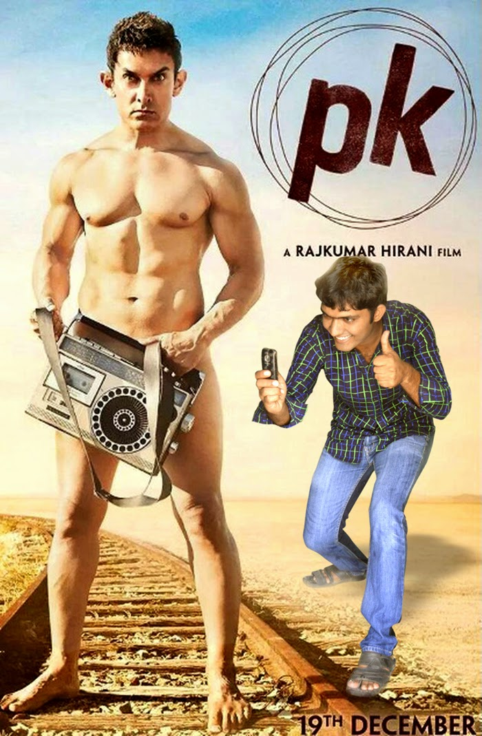 PK funny poster