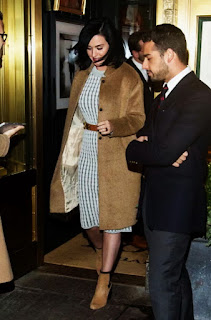 Katy Perry – Leaving the Polo Bar – NYC