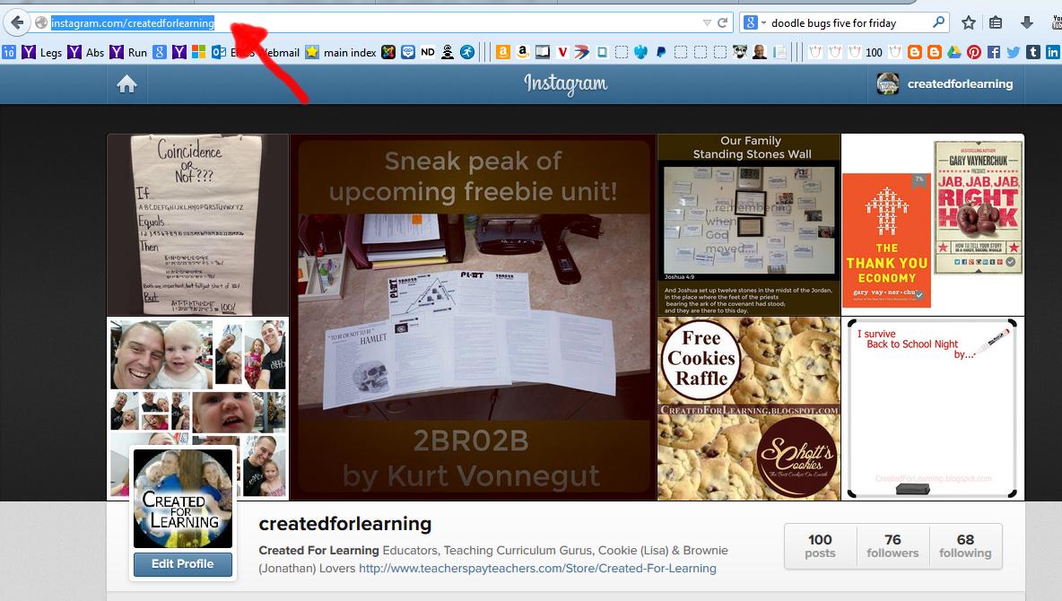 http://instagram.com/createdforlearning