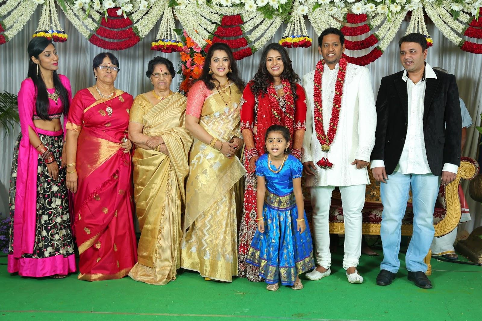 Actress Sanghavi Marriage Photos