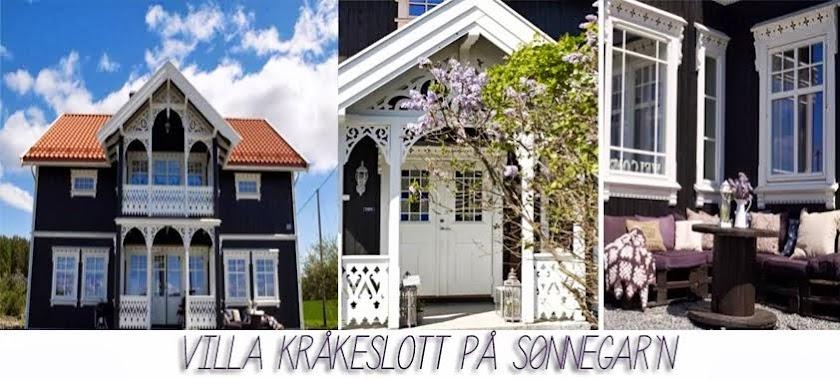 Villa Kråkeslott på sønnegar`n.