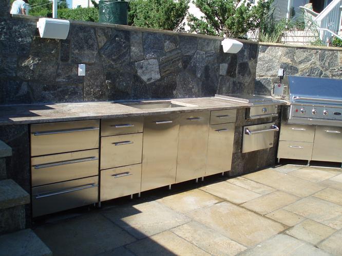 Momentos de fiesta con cocinas para exteriores c mo - Cocinas exteriores modernas ...