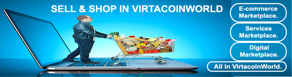 VIRTACOINWORLD ECOMMERCE MARKET PLACE