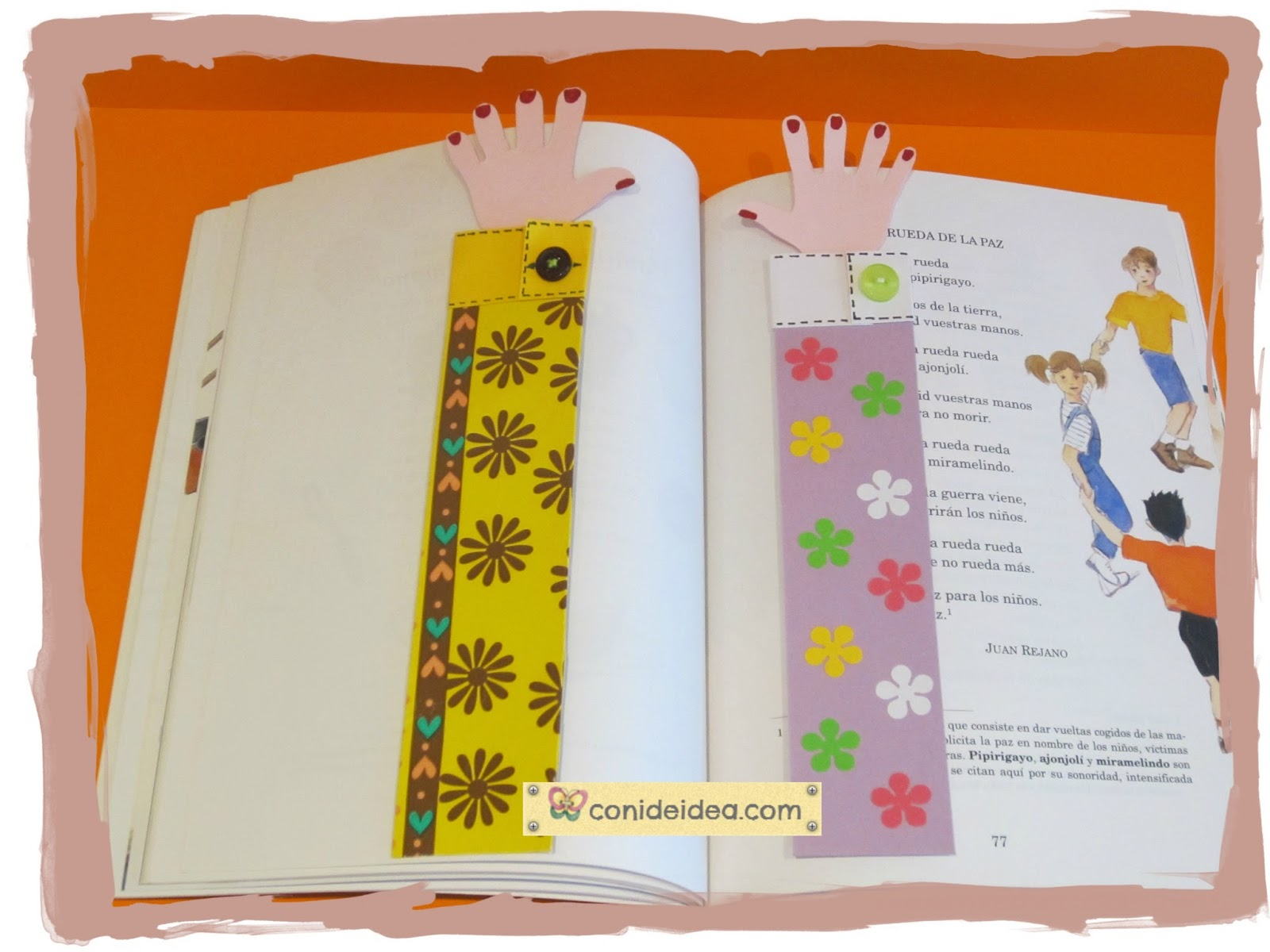 Manualidades con i de idea marca p ginas brazo - Paginas de manualidades ...