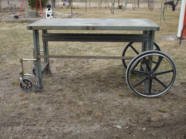 Ed 39 S Metal Creations Rolling Metal Work Bench