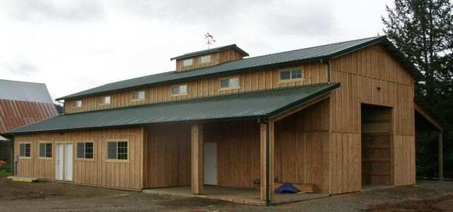 Pole barn homes for Pole barn design ideas