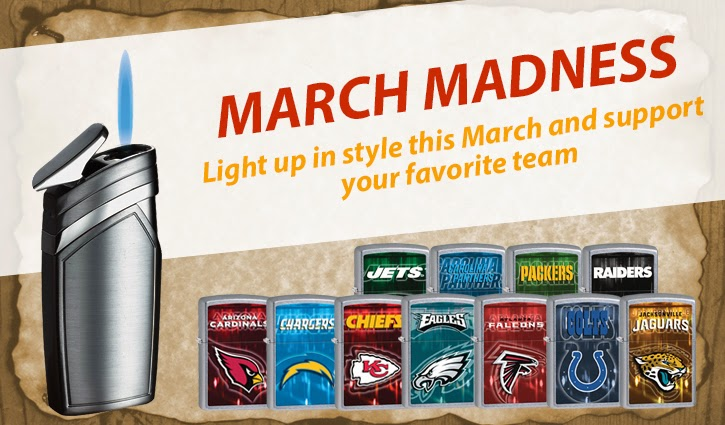 Light up in style this March and support your favorite team