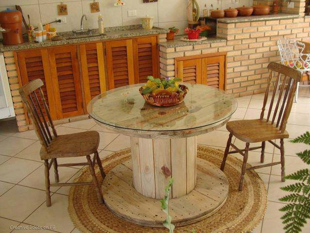 If You Want To Have Unique Peace Of Furniture In Your Home Find Inspiration  In My Images How You Can Make Table For Your Home Or Garden.