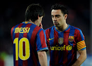 Andres Iniesta And Lionel Messi andres iniesta and lionel messi