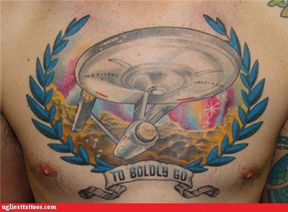 filmes, tatuagens, imagens, cinema, jornada nas estrelas, 25 tatuagens baseadas em filmes, arte corporal cinematográfica, eu adoro morar na internet