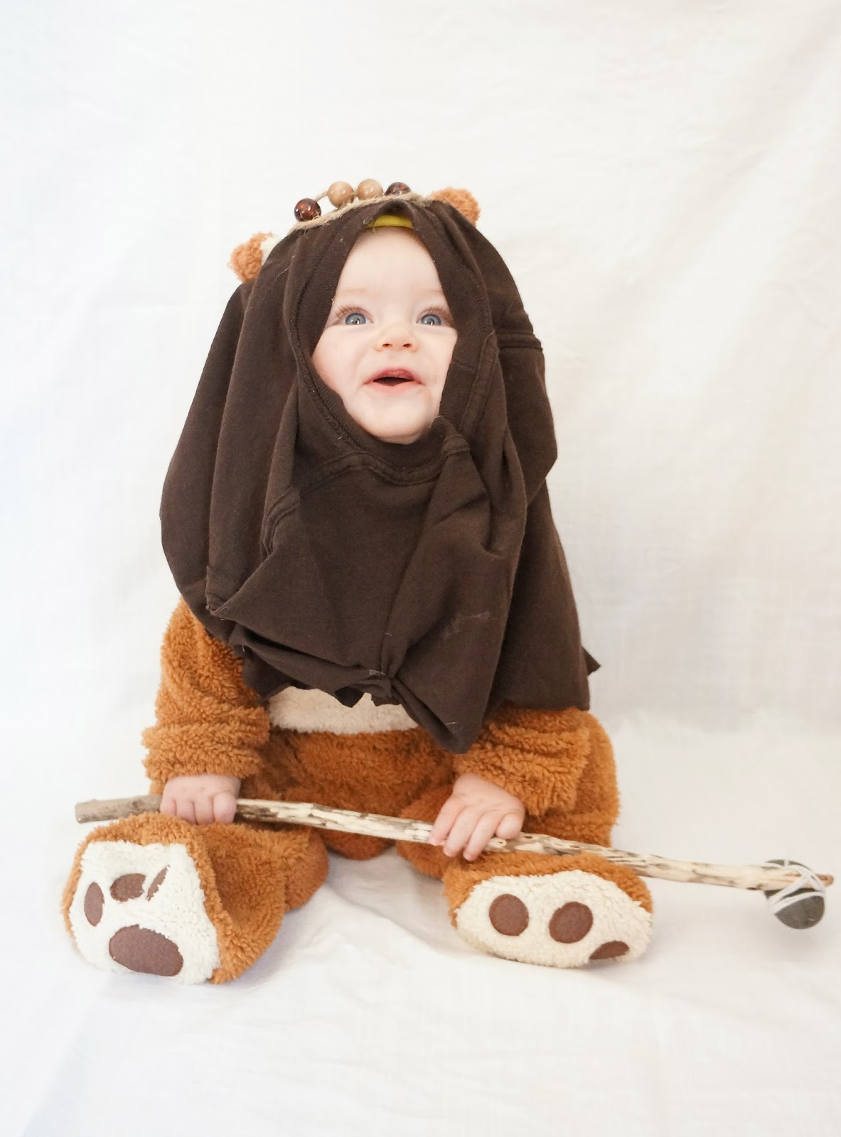 DIY Ewok Costume