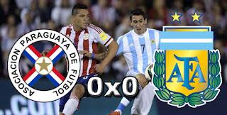 Paraguai 0x0 Argentina