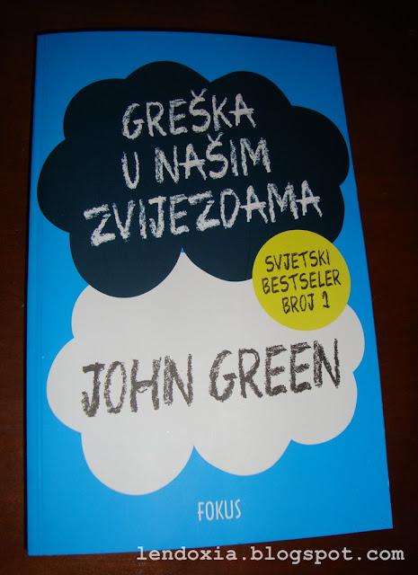 john green greska je u nasim zvijezdama