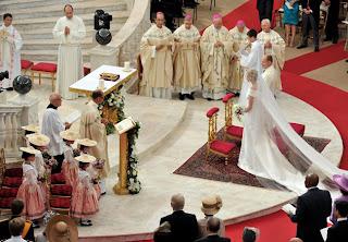 6 Charlene Wittstock & Príncipe Albert de Mônaco