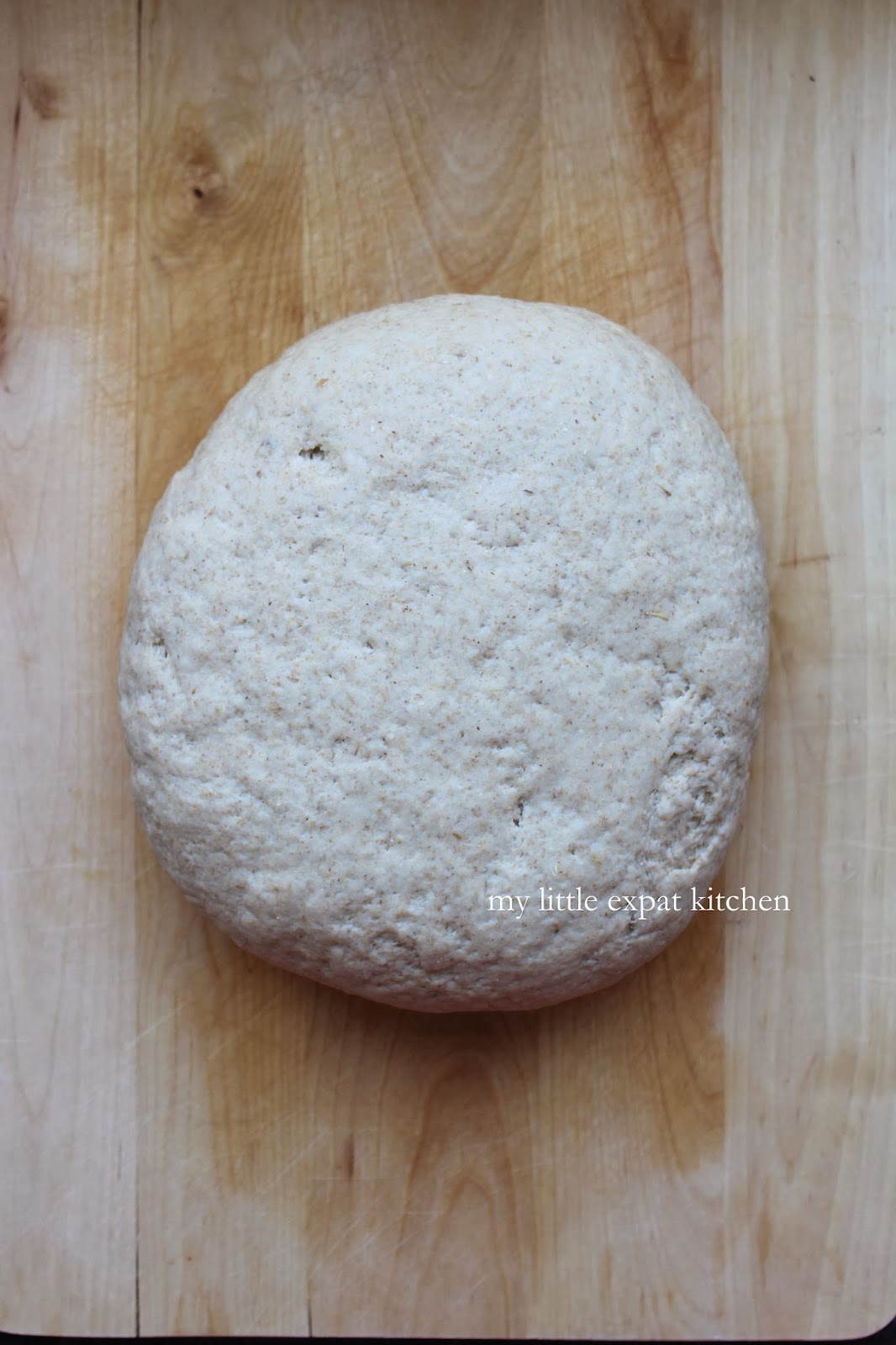My Little Expat Kitchen: Greek barley bread