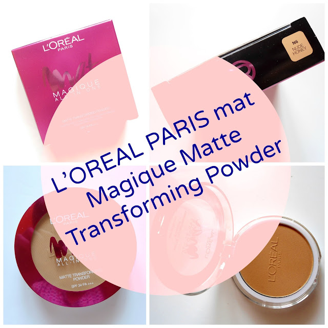 L'OREAL PARIS Mat Magique Matte Trsnsforming Powder Review Price Details