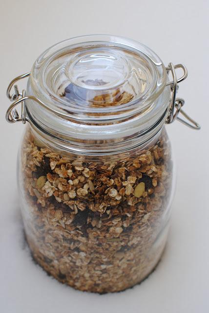 hemmagjord musli, musli, müsli, recept