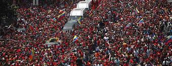 El entierro de Hugo Chavez en Venezuela